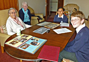An oral history project for school pupils to meet elderly nuns, mediated through Archives Alive